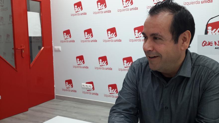 Juan Ramón Crespo, durante la entrevista