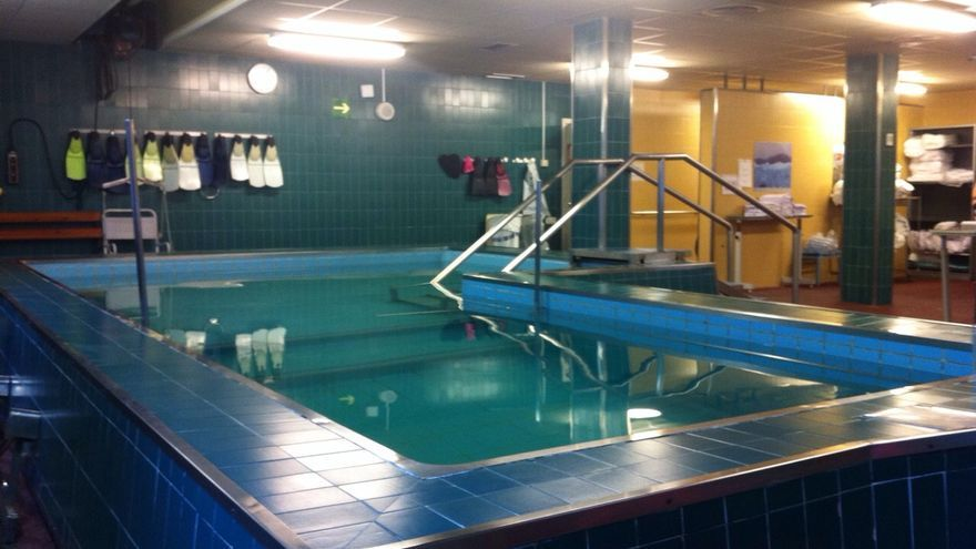La piscina terapéutica ubicada en el Hospital de Txagorritxu, en Vitoria.