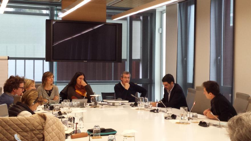 Markel Olano y Eneko Goia comparecen en la Comisión de investigación sobre irregularidades en Bidegi.