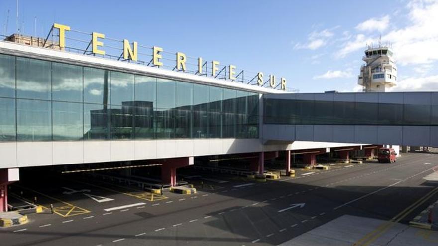 El aeropuerto Tenerife Sur, en una imagen de archivo