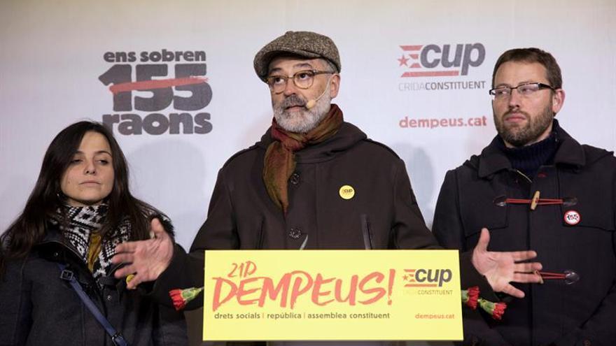 """La CUP """"homenajea"""" el espíritu del 1 de octubre en el arranque de su campaña"""
