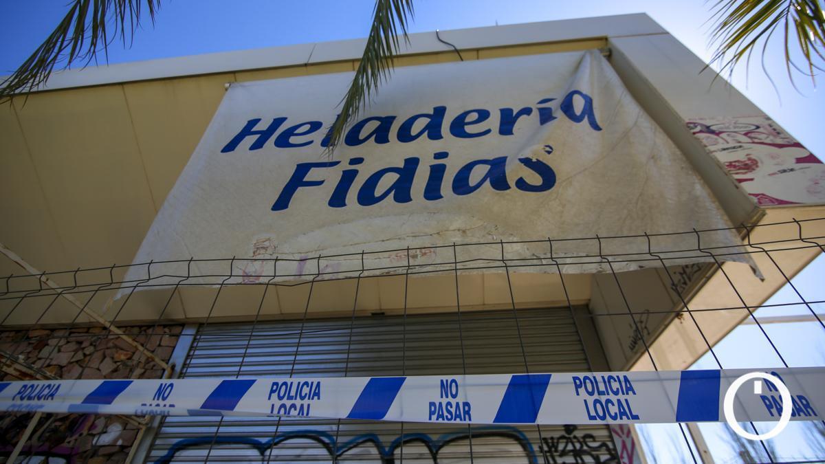 Kiosco Fidias en Miraflores precintado por Policía Local