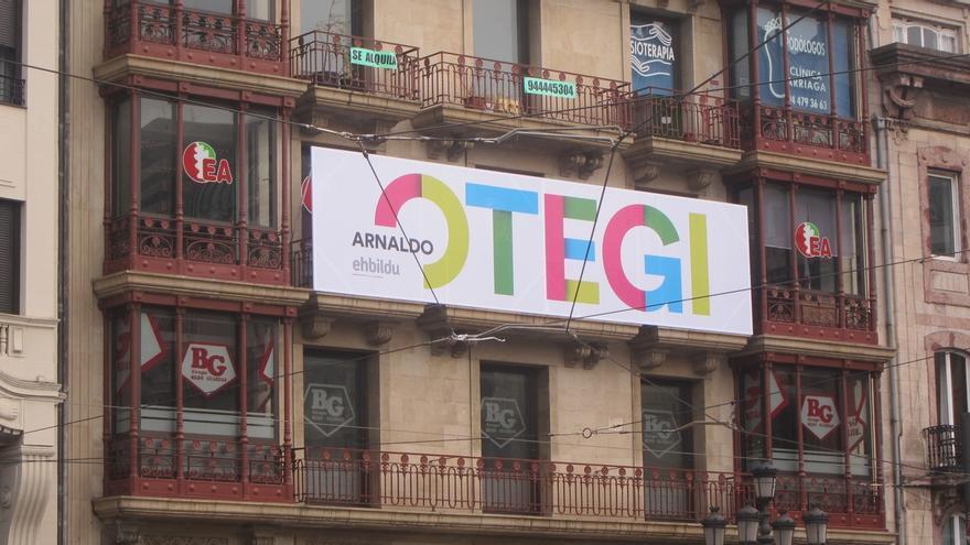 Más de 13.600 personas se adhieren a la recogida de firmas en defensa de que Otegi pueda presentarse a las elecciones