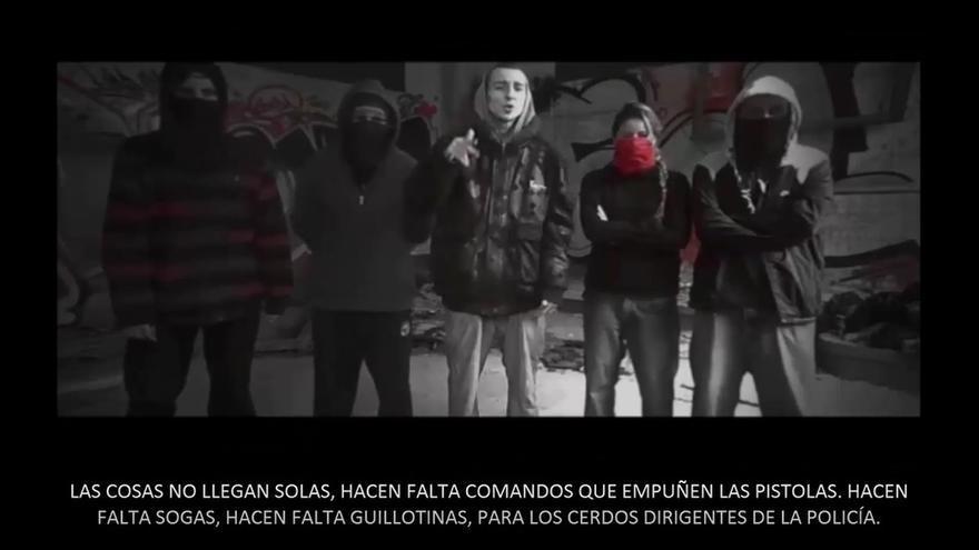La Policía desarrolla una operación contra el colectivo de hip-hop 'La Insurgencia' por un delito de terrorismo