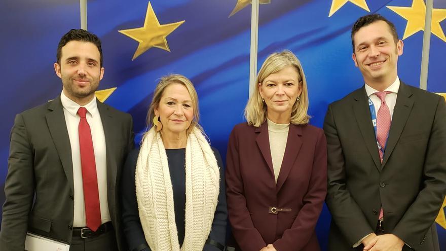 La consellera de Justicia, Gabriela Bravo, ha visitado Bruselas