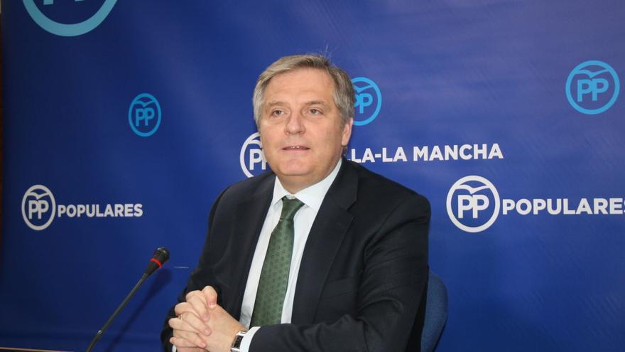 Francisco Cañizares, portavoz del PP en las Cortes de Castilla La Mancha