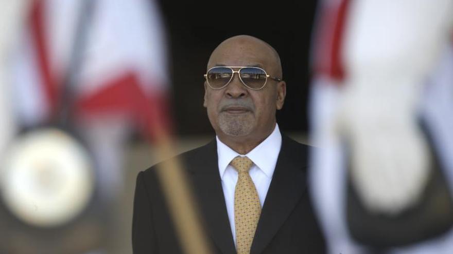 En la imagen, el presidente de Surinam, Dési Bouterse.