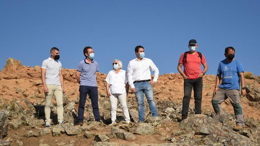 Estudian que el yacimiento de Brazatortas sea uno de los miradores del Geoparque Volcanes de Calatrava