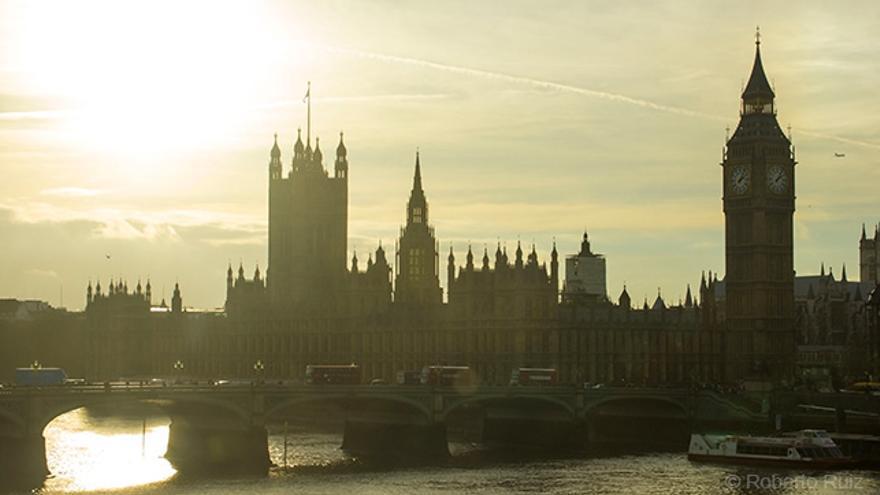 Londres, Big Ben y el Palacio de Westminster
