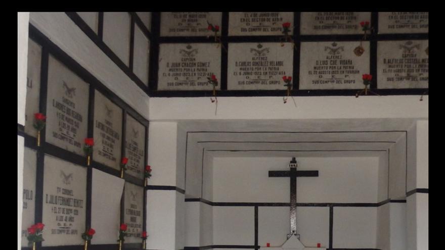 El general golpista Sanjurjo, enterrado con honores en Melilla | EL ALMINAR DE MELILLA