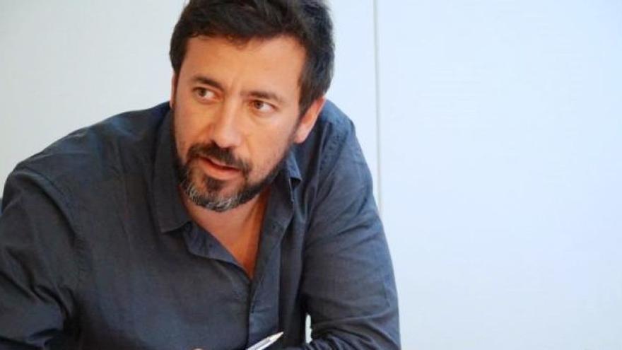 Antón Gómez-Reino, diputado de En Marea y candidato a liderar Podemos Galicia