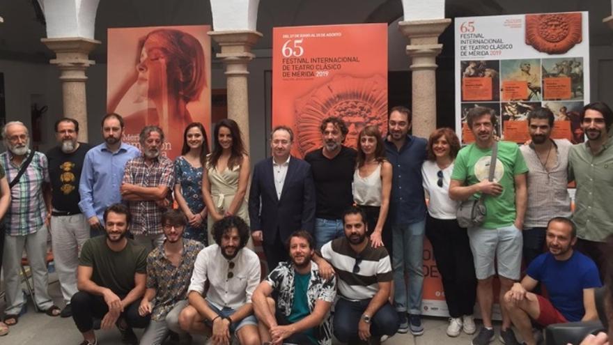 Presentación de la tragedia 'Tito Andrónico'