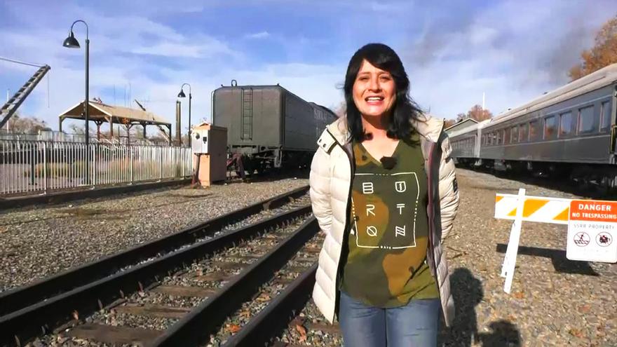 Paqui Peña, en un reportaje de 'Madrileños por el mundo'