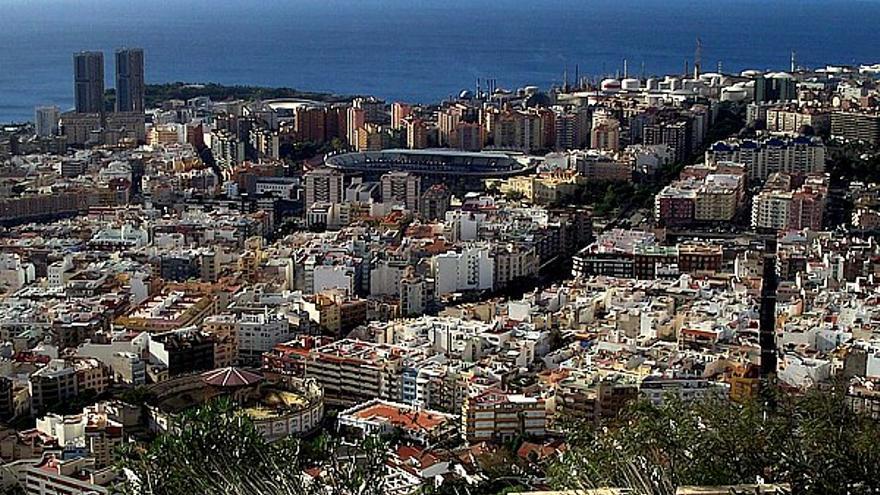 Vista general de Santa Cruz de Tenerife.
