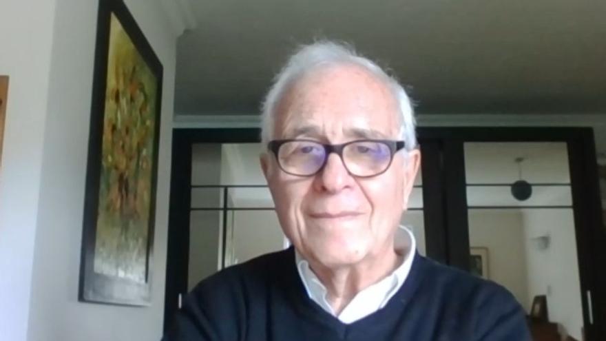 José María Maravall Herrero, sociólogo y político español, militante del PSOE y ministro de Educación y Ciencia en los dos primeros gobiernos de Felipe González.