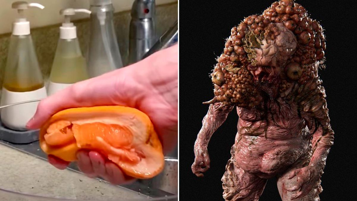 El sonido de estrujar una fruta acaba convirtiéndose en el de un Infectado en 'The Last Of Us. Part II'