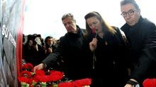 Pilar Manjón, en un homenaje a las víctimas del 11M. / Efe