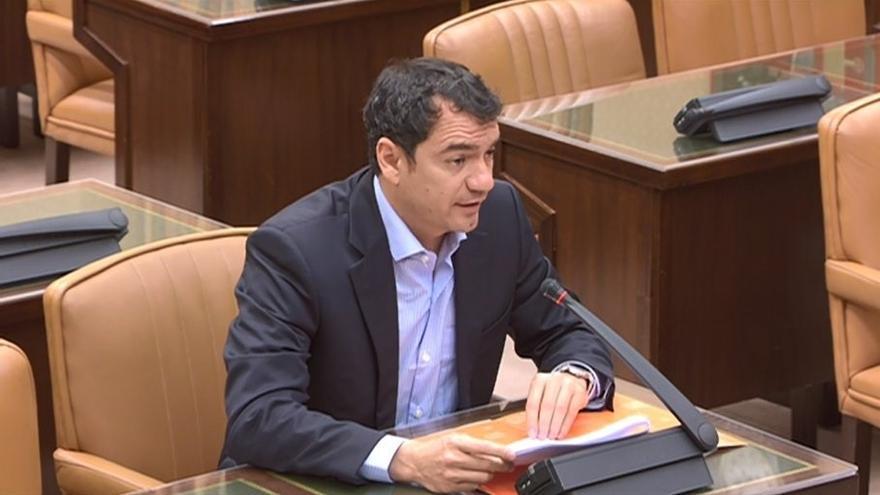 El candidato de la formación naranja al Congreso de los Diputados por la provincia de Las Palmas.