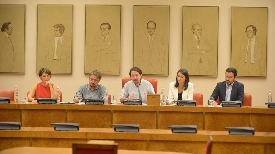 PNV, ERC, PDeCAT y Bildu saludan la asamblea pro referéndum de Podemos pero piden más concreción