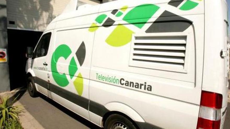 Unidad móvil de TV Canaria