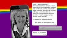 La 'coach' multada por ofrecer terapias de 'conversión' de la homosexualidad capta clientes en una app de ligue para gays