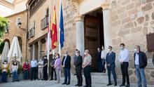GALERÍA | Último día de luto oficial: minuto de silencio en Castilla-La Mancha por las víctimas del coronavirus