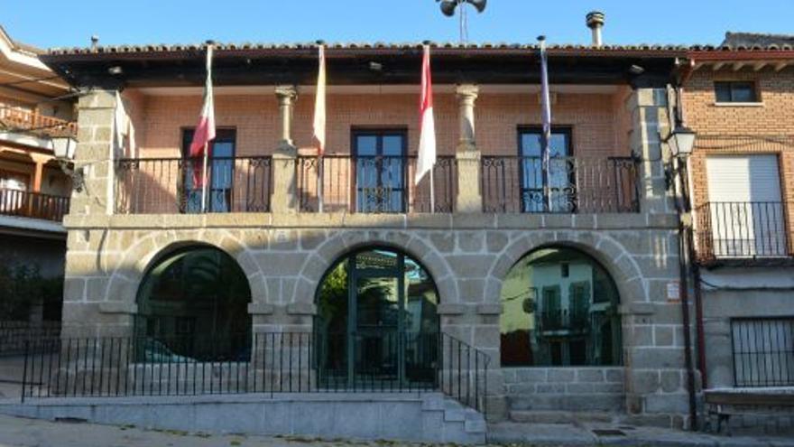 Ayuntamiento de la Iglesuela, foto por la Diputación de Toledo