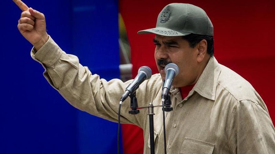 """Maduro: """"Saca tus manos de aquí Donald Trump. Go home"""""""