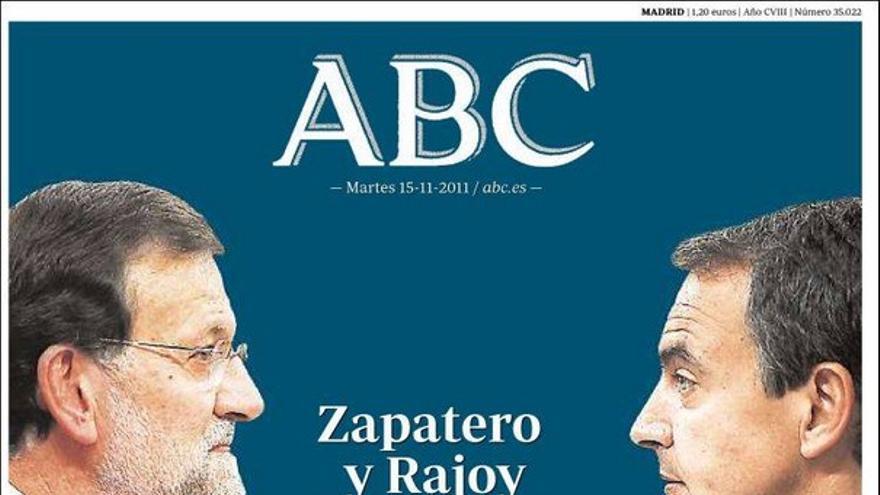 De las portadas del día (15/11/2011) #6