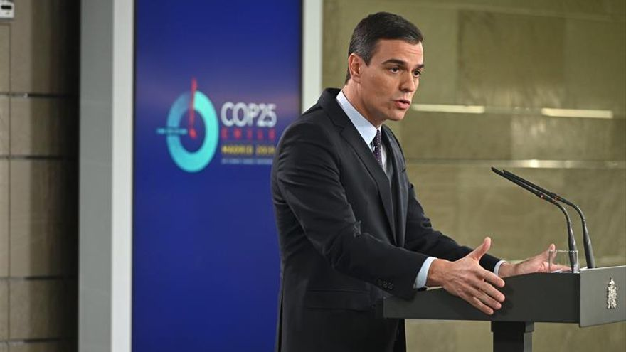 """Sánchez: """"Todo acuerdo será público y estará dentro del marco constitucional"""""""