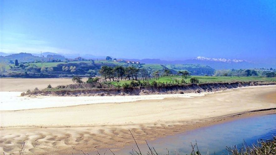 Parque Natural de Oyambre, en la costa occidental de Cantabria.   Foto: Ecologistas en Acción