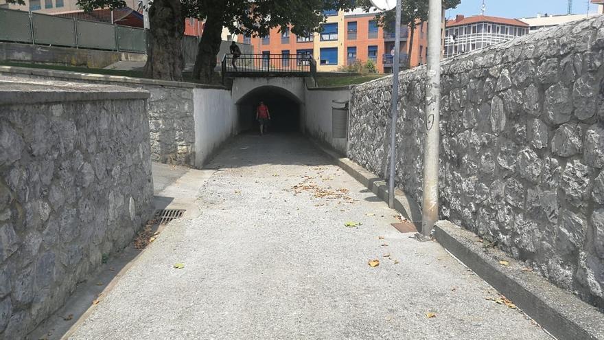 Ayuntamiento de Barakaldo abre el túnel de la Orconera, señalado como punto negro peligroso para mejorar su visibilidad