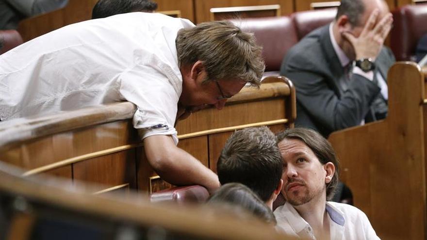"""Podemos lamenta que el PSOE no haya estado """"a la altura"""" en la Mesa del Congreso"""
