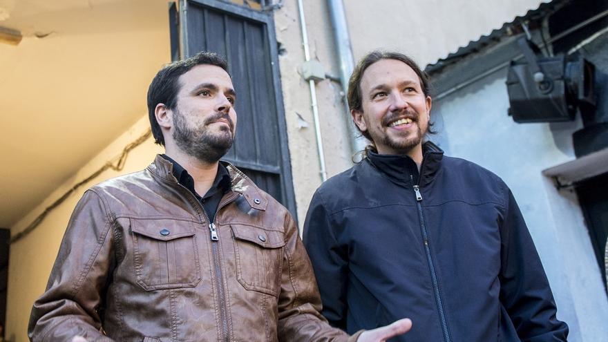 El 86,7% de los participantes en la consulta de IU apoya el pacto con Podemos