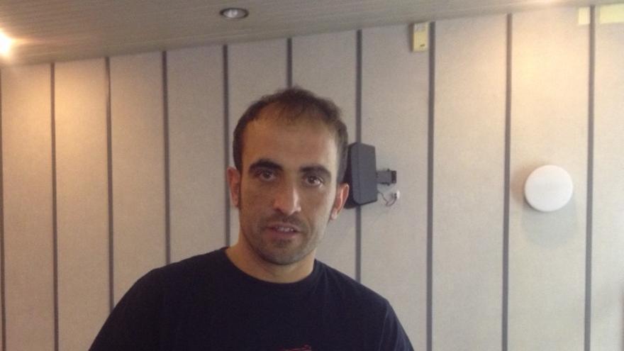 Unai Aranguren, representante de Vía Campesina en Euskadi.