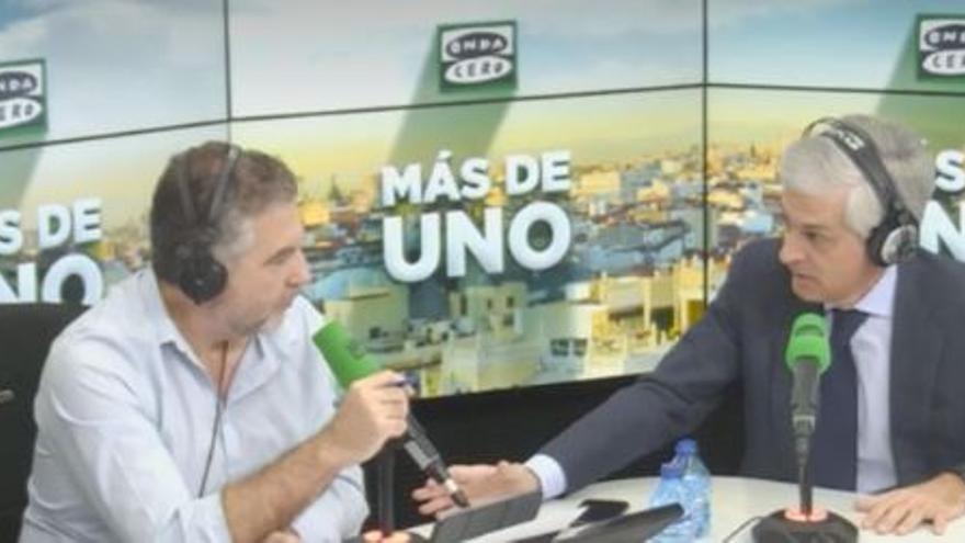 Suárez Illana durante una entrevista en Onda Cero.