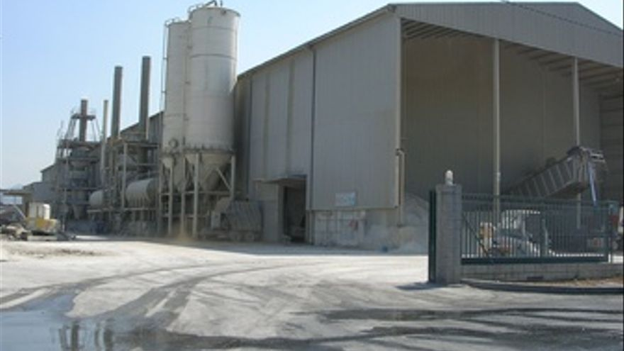 Producción industrial en Murcia