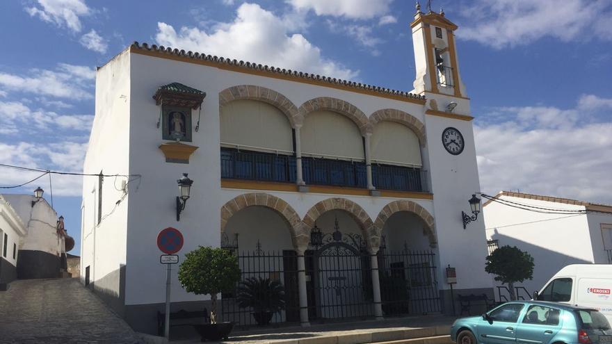 Fachada principal del Ayuntamiento de Gerena.