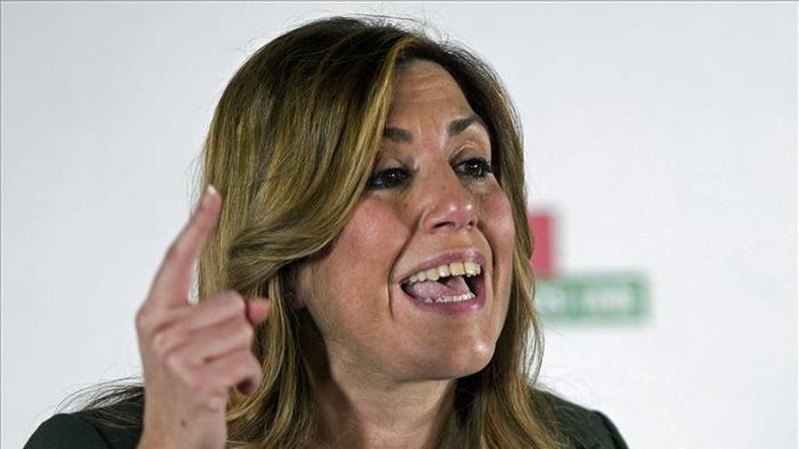 """Susana Díaz:""""Me han llevado a la Junta Electoral porque están de los nervios"""""""