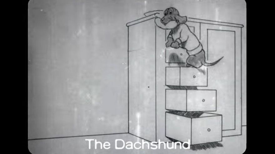 El perro glotón que impulsó los dibujos animados quince años antes ...