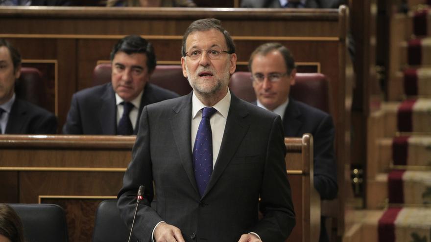 """Rajoy asegura que estos tres años son el relato de un país que """"no se dejó hundir"""" y """"supo sufrir para ganar su futuro"""""""