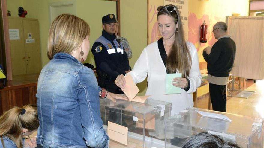 La candidata de Ciudadanos a la presidencia del Gobierno de Canarias, Melisa Rodríguez