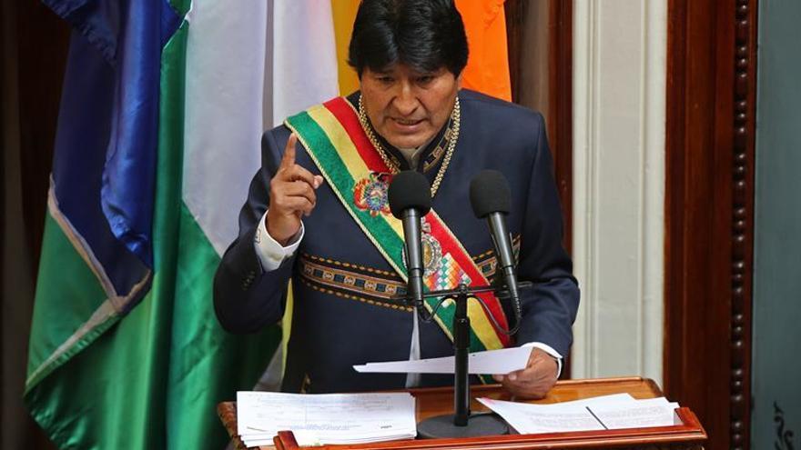 Evo Morales critica a Almagro por pedir sanciones más duras contra Venezuela