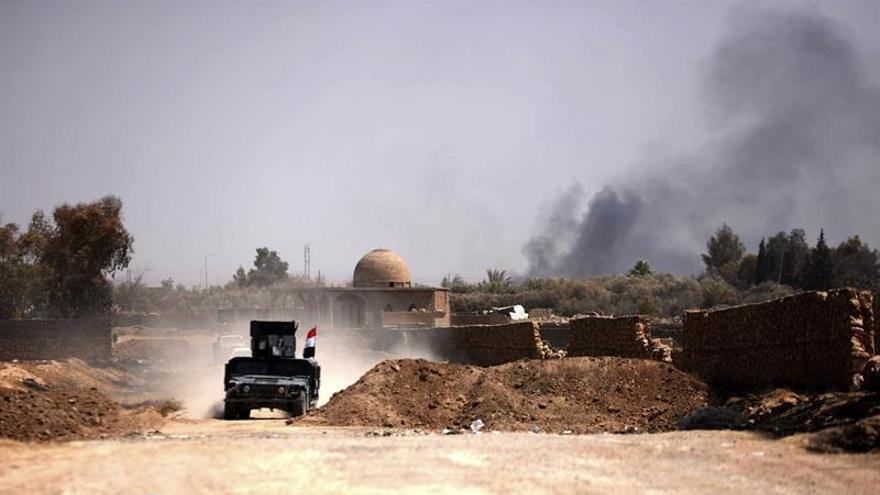 El ejército iraquí traslada a presuntas esposas e hijos de extranjeros de radicales