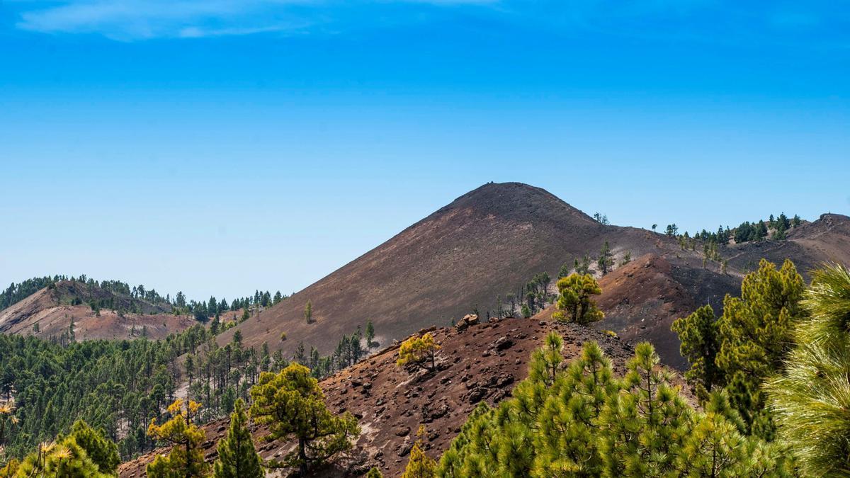 Imagen de archivo de la Cumbre Vieja de La Palma. EFE/Miguel Calero