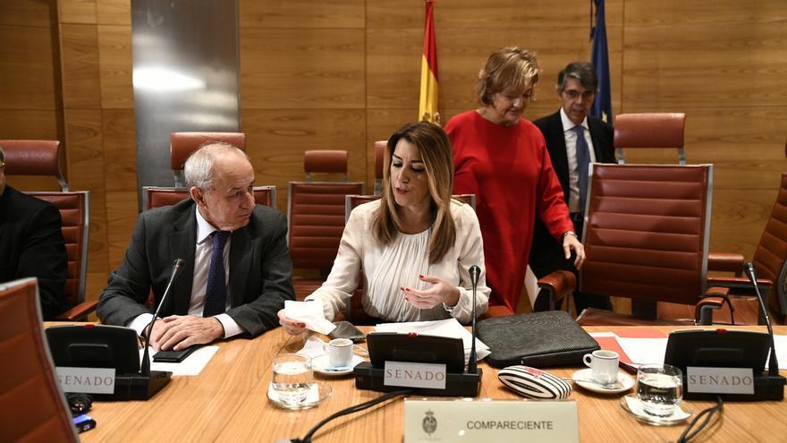 Susana Díaz le aclara al PP que Sánchez no es su jefe sino un compañero: sus jefes son los andaluces