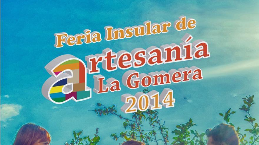 Cartel de la feria de artesanía de La Gomera 2014