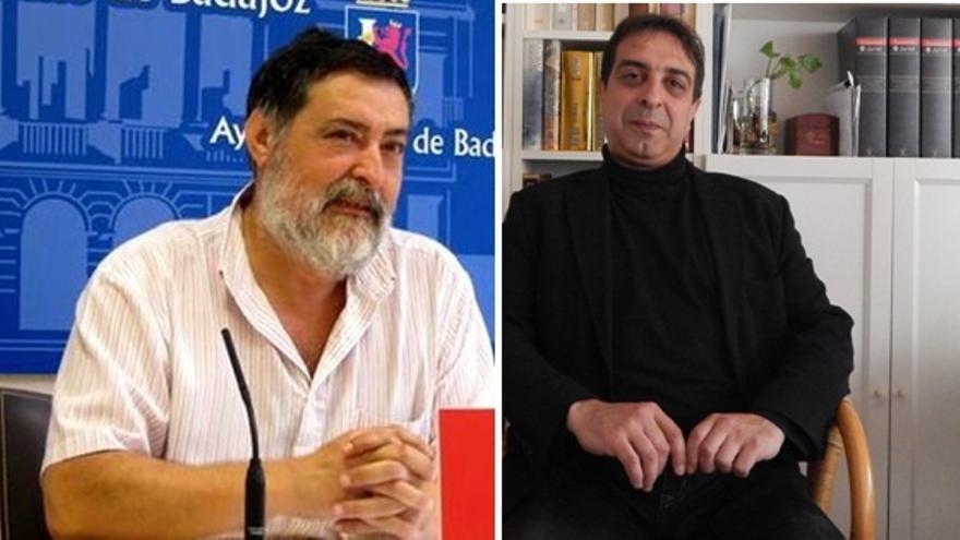 Manuel Sosa y Adrian Rodríguez se disputan el liderazgo de IU Badajoz