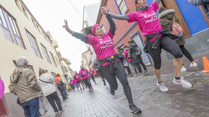 La Carrera de la Mujer recorre las principales calles del casco histórico de La Laguna.
