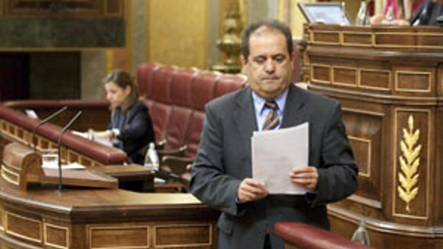 José Luis Perestelo, en su comparecencia en el Congreso. (ACFI PRESS)